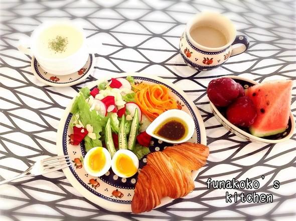 ・しっかり朝ごはん・
