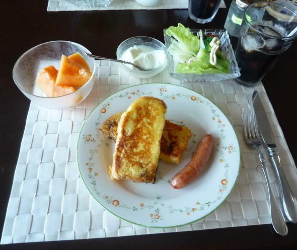 7月19日フレンチトーストの朝食♪