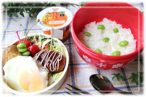 ロコモコ丼のお弁当