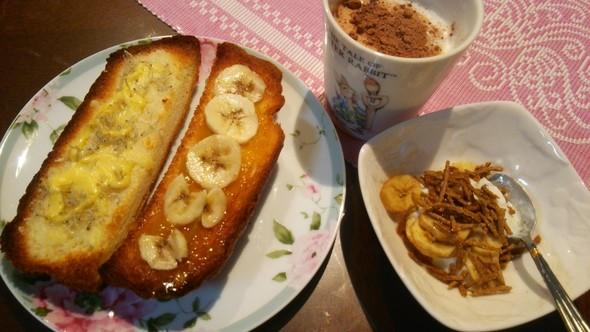 しらすチーズ×バナナママレードココナッツ