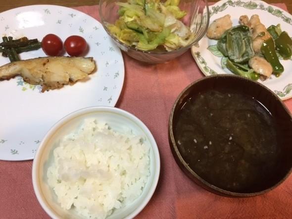 7月27日 夕ご飯♪