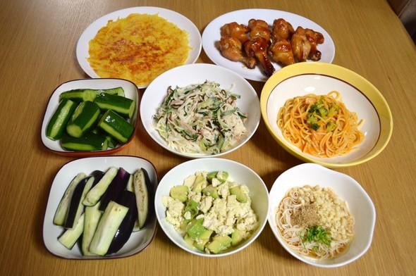 我が家の晩ご飯【2015.8.25】