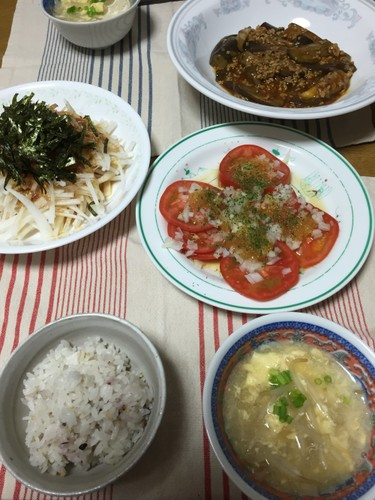 8月27日 夕ご飯♪