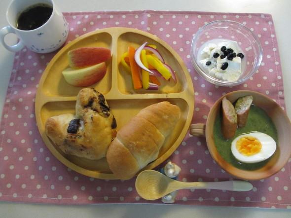 ベリーベリースープ風*ピクルス☆朝ご飯