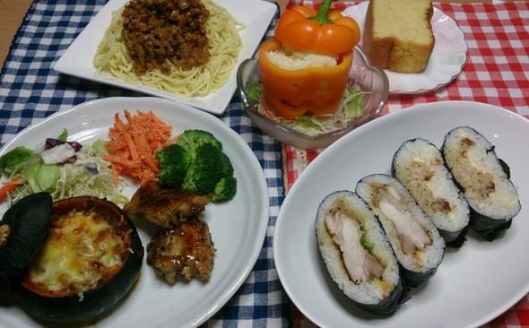 夕食 スパゲッティ☆ミートソース