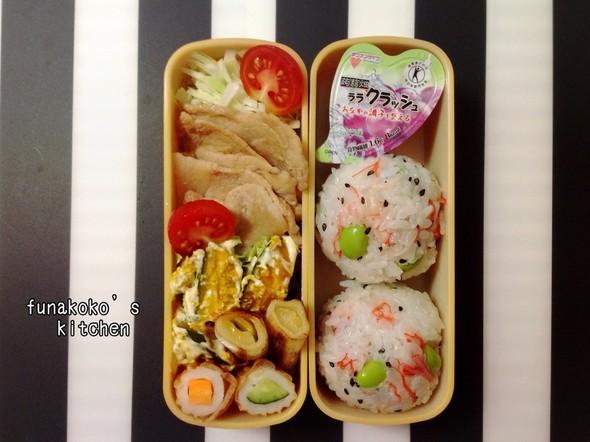 ・小学生女子の塾お弁当・