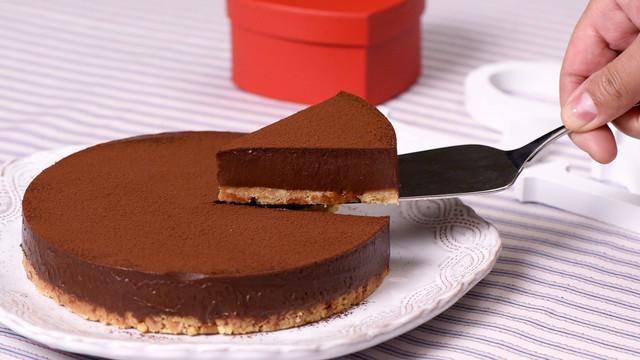 ケーキ 焼 かない チョコ